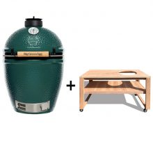 Big Green Egg Large met douglas tafel